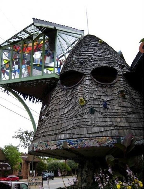 mushroom treehouse ohio