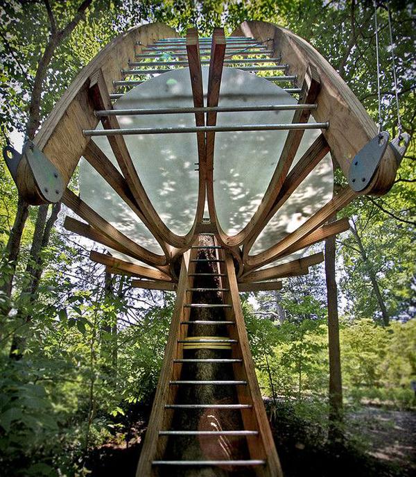 tyler arboretum treehouse pic