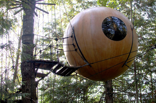 free spirit pic - Most Expensive Tree House In The World