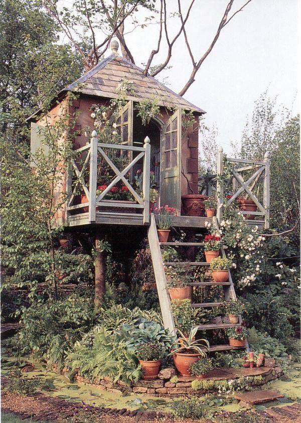 A Treehouse In The Garden Hometreehome